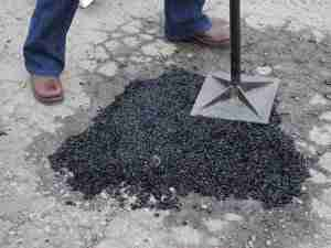 asphalt patch
