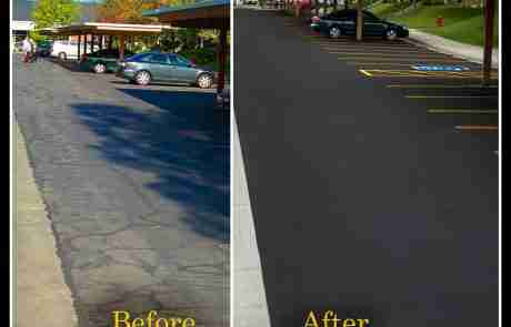 Sealcoating & Line Striping Portfolio - Top Job Asphalt