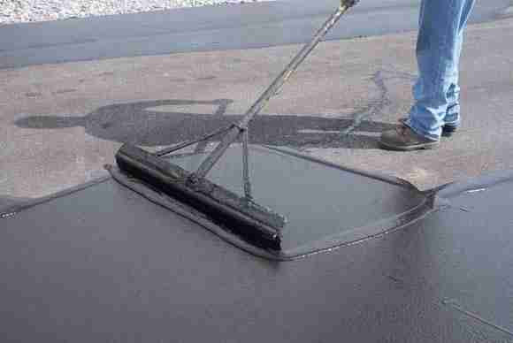 asphalt sealing top job asphalt