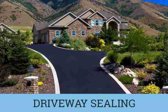 driveway asphalt sealing
