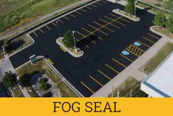 asphalt fog seal top job asphalt