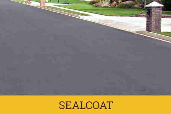 municipal seal coat asphalt maintenance