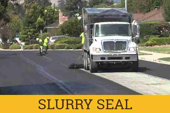 surface treatments asphalt slurry