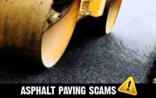 asphalt paving scams