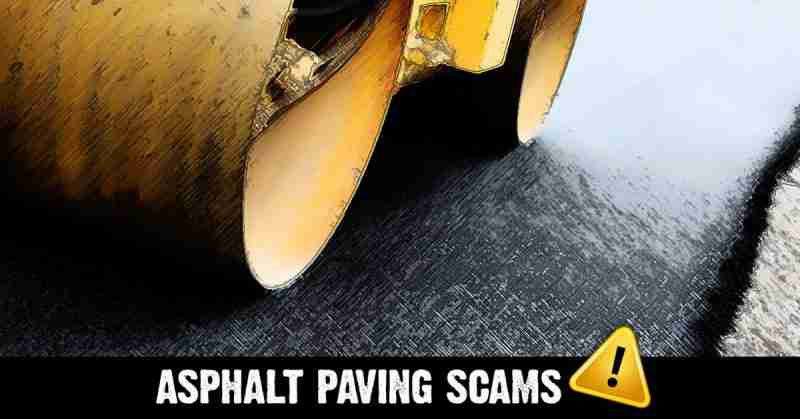 asphalt paving scam
