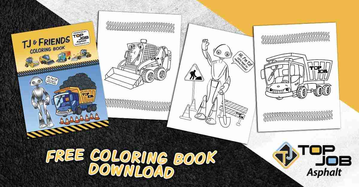 free downloadable road construction coloring book