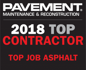 Top Contractor pavement maintenance