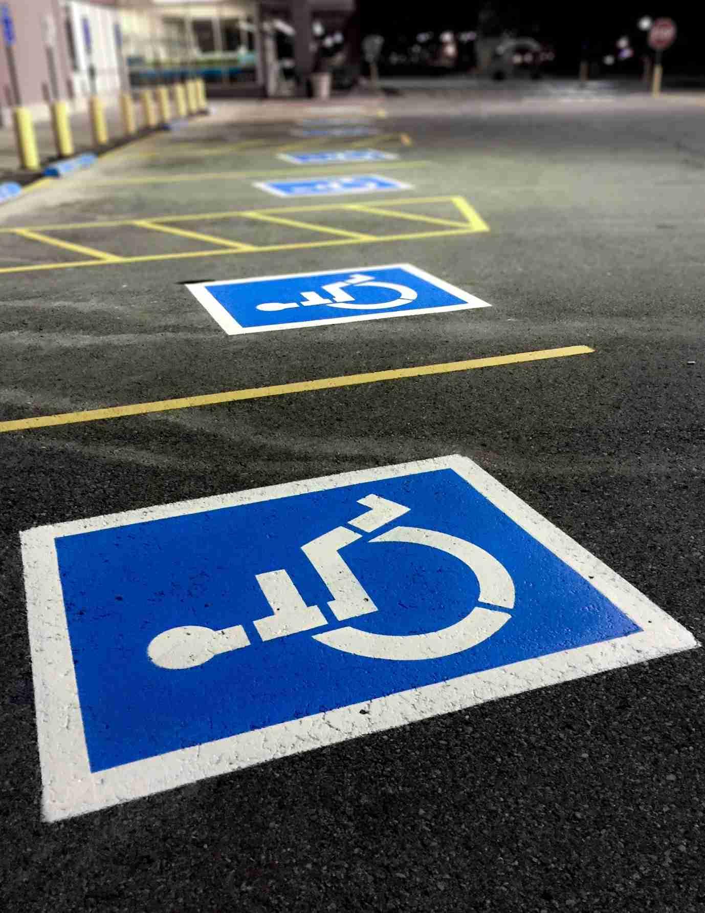 Handicap Parking Stalls Logan Ut